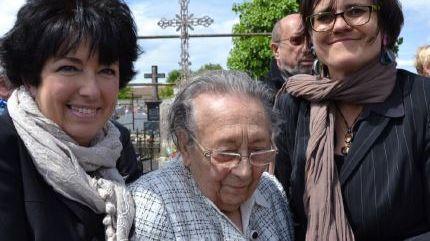 Renée Lacoude le 8 mai 2015