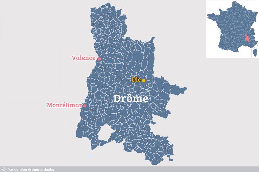Die, dans la Drôme