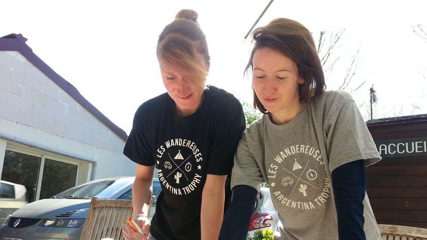 Laura Lambert (à gauche) & Cécile Durand (à droite)