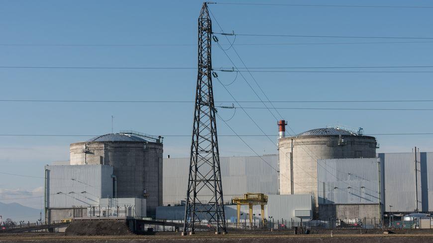 La centrale nucléaire de Fessenheim, mise en service en 1978.