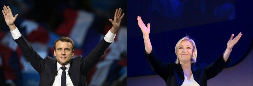 Emmanuel Macron et Marine Le Pen s'affronteront en débat le 3 mai à 21 heures.