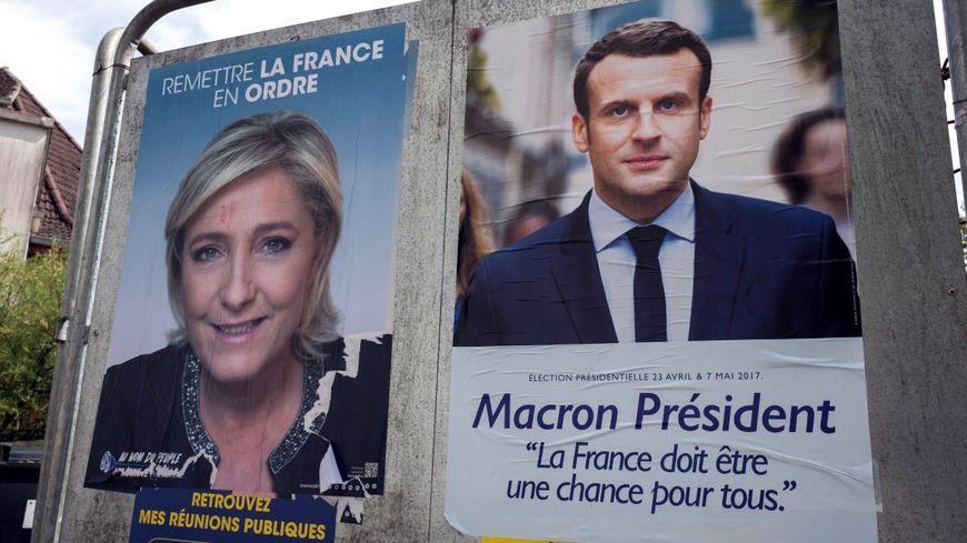 Marine Le Pen et Emmanuel Macron qualifiés pour le second tour