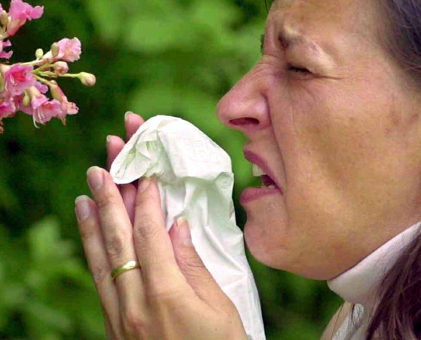Allergie aux pollens. C'est la période !