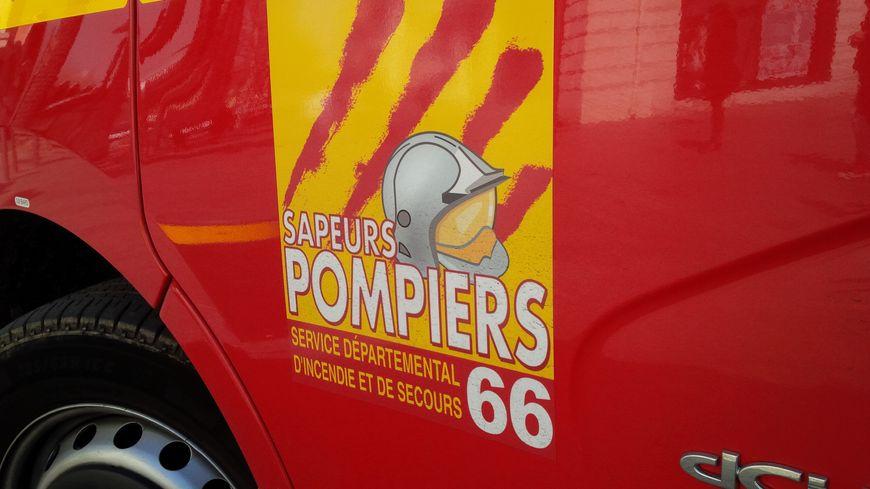Un véhicule des pompiers des Pyrénées-Orientales