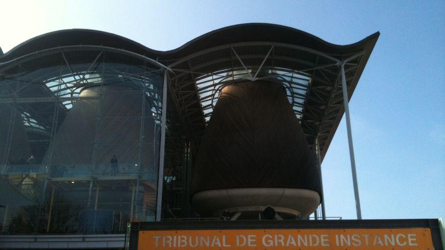 Le Palais de justice de Bordeaux.