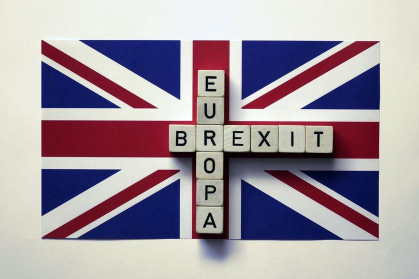 Drapeau britannique, Illustration du Brexit