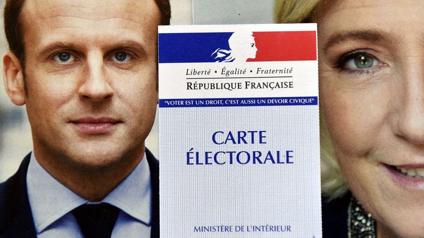 Un duel Macron - Le Pen au second tour