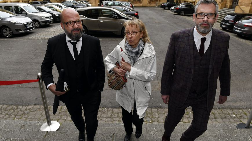 Les avocats de Francis Heaulme lors de son procès pour le double meurtre de Montigny les Metz