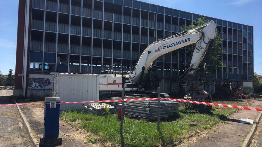 La structure de la CRS 48 sera démolie d'ici 15 jours