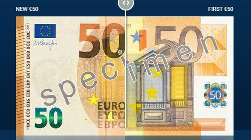 A Quoi Ressemble Le Nouveau Billet De 50 Euros Mis En Circulation
