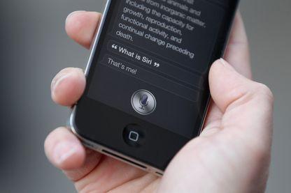 Siri, l'intelligence artificielle qu'Apple propose dans ses iPhones depuis 2011
