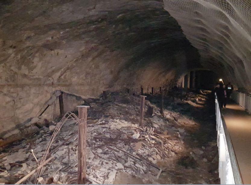 Dans les épouvantables tunnels de Dora, 6.000 déportés sont morts dans les six premiers mois.