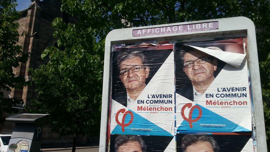 Jean-Luc Mélenchon a fait de gros scores au 1er tour de la présidentielle 2017 dans plusieurs cités populaires de Moselle-est, comme ici à Forbach.