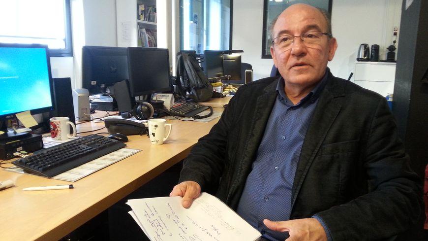 Patrick Abate, sénateur et maire communiste de Talange.