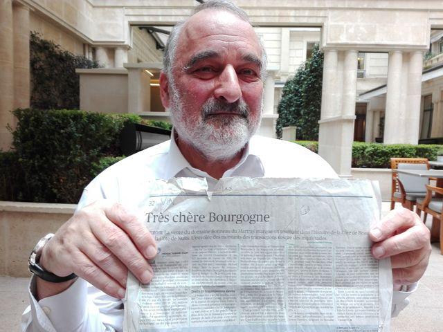 François Mauss, expert en viticulture