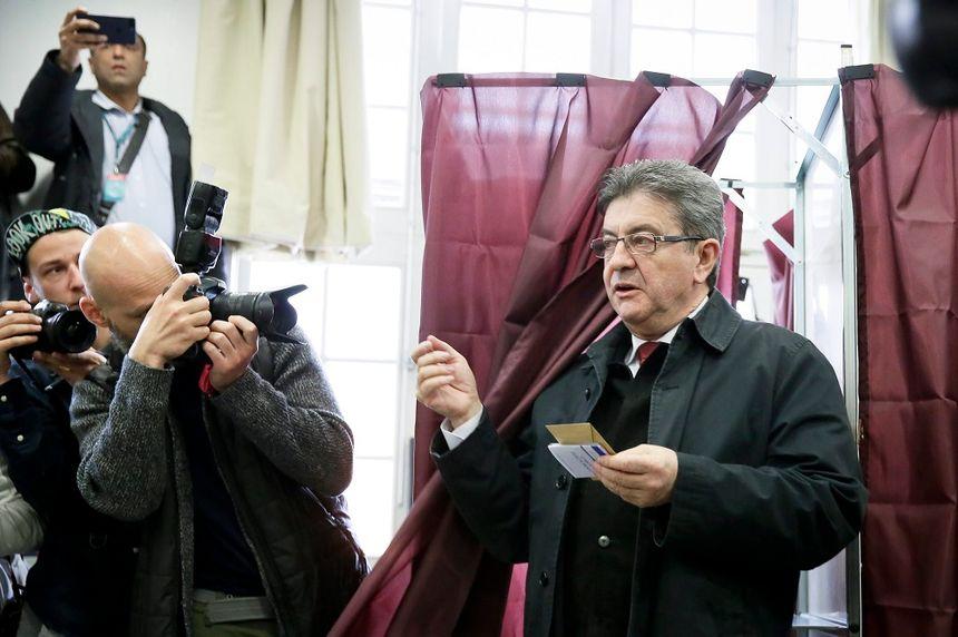 Jean-Luc Mélenchon a été le dernier candidat à voter.
