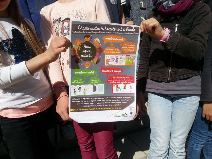 La charte des élèves contre le harcèlement