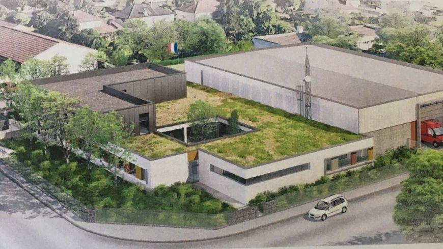 A Poitiers, le nouveau centre de secours de la Blaiserie remplacera la caserne obsolète de Pont-Achard