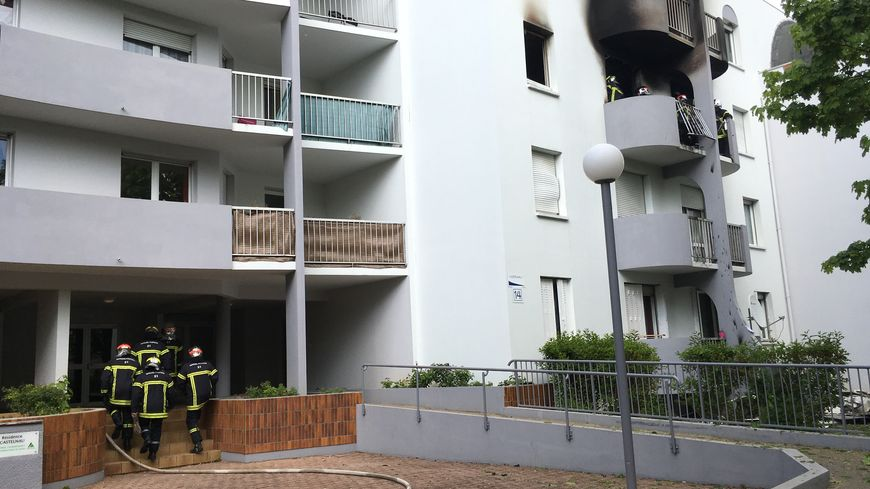 """L'appartement a été """"littéralement soufflé"""" par l'explosion."""