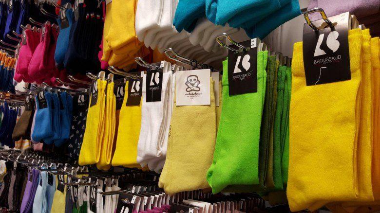Broussaud fabrique notamment les chaussettes de Stromae