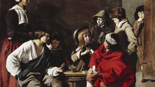 """Quelle musique voyez-vous sur """"Les Joueurs de cartes"""" de Louis Le Nain ?"""