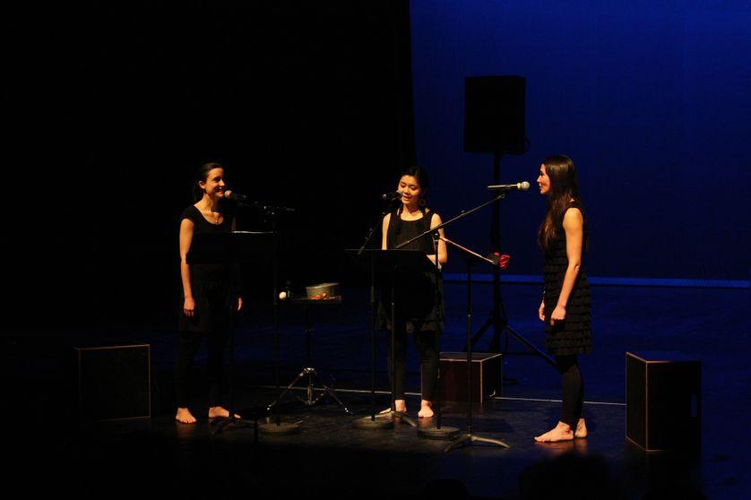 L'ailleurs de l'autre interprété par Marie Picaut, Michiko Takahashi et Camille Slosse