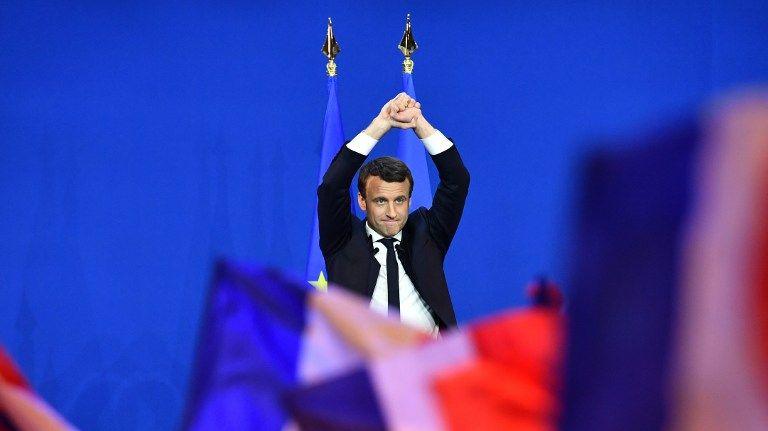 Emmanuel Macron, largement en tête à Paris et en Ile-de-France.