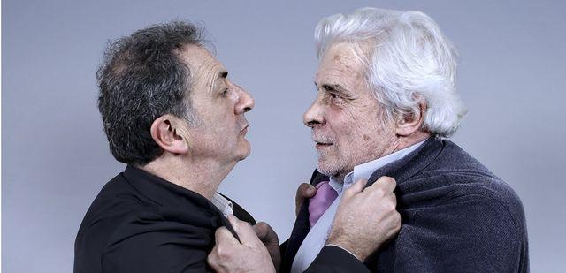 François Morel et Jacques Weber