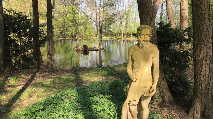 Bennwihr, le bois du Parc de Schoppenwihr