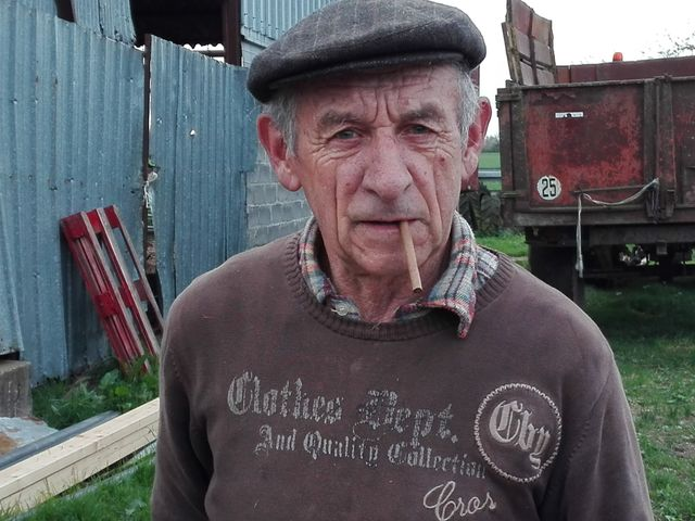 Jean-Claude Feugeres, agriculteur