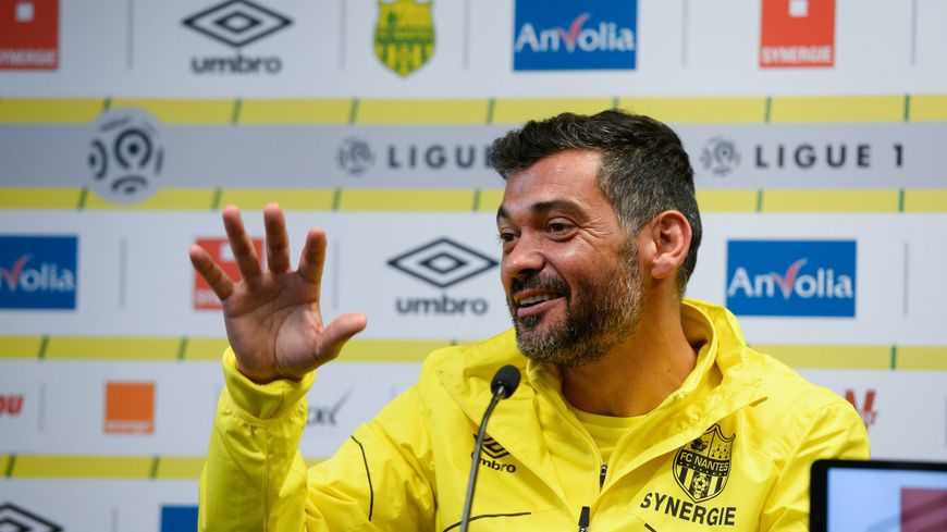 Sergio Conceicao motivé à l'idée de terminer premier club de Bretagne