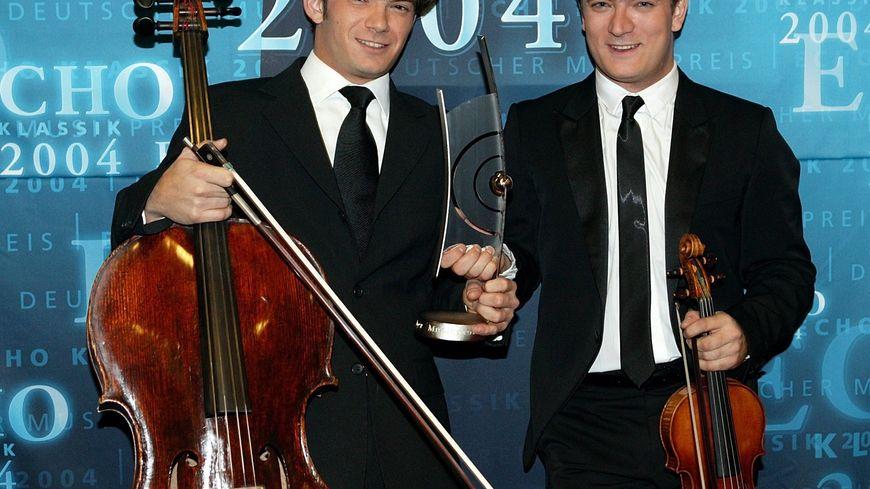 Renaud et Gautier Capuçon nouveaux talents de l'année 2004