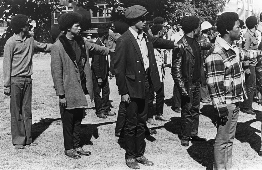 Black Panthers à Oakland, Californie, 1969