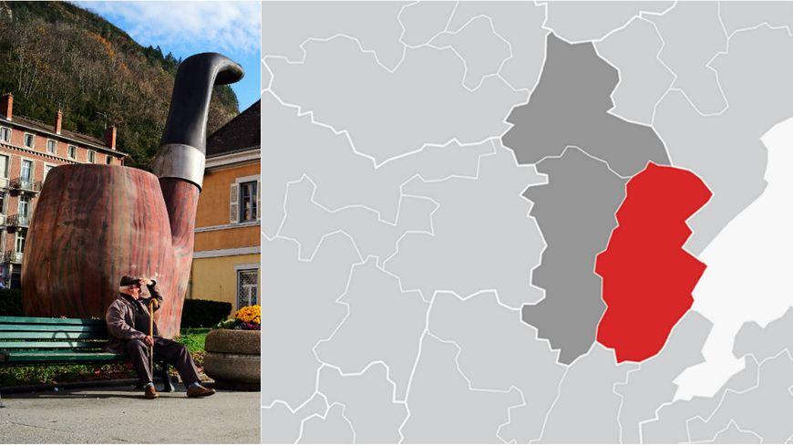 La deuxième circonscription du Jura couvre notamment Saint-Claude et Champagnole.