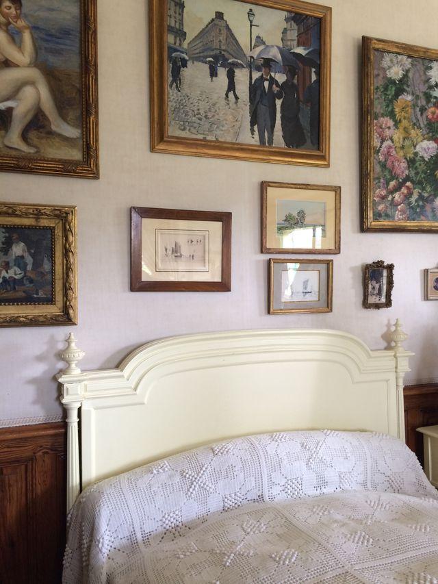 La chambre de Claude Monet