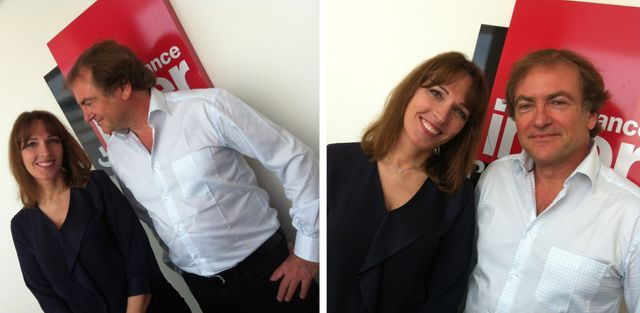 Stéphanie Jarre et Didier van Cauwelaert