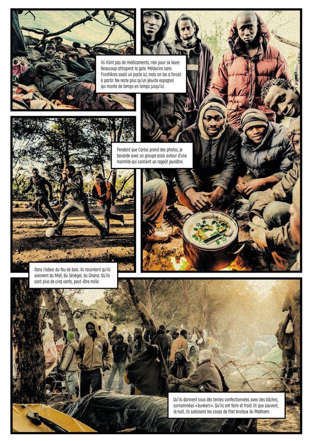 Page de La Fissure de Carlos Spottorno et Guillermo Abril