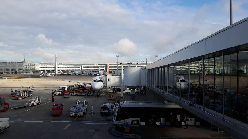 A l'aéroport de Roissy - Charles de Gaulle (illustration)
