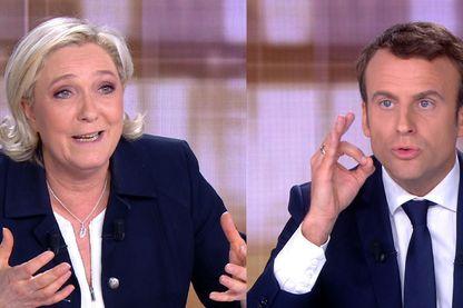 Débat télévisé Marine Le Pen et Emmanuel Macron du 3 mai 2017
