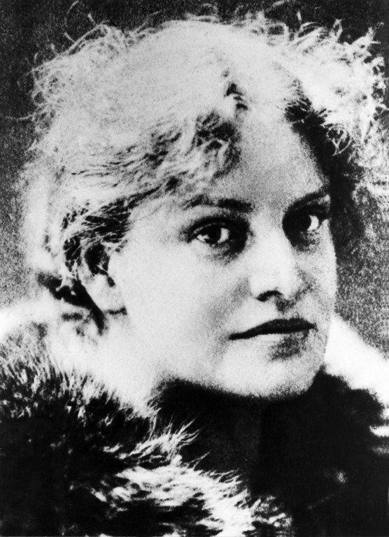 Portrait de l'écrivain allemande Lou Andreas-Salomé (1861-1937) en 1897