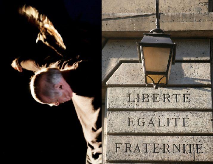 Pascal Quignard // Devise républicaine dans le 3e arrondissement à Paris