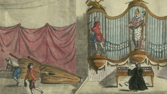 L'orgue du palais ou le temps perdu