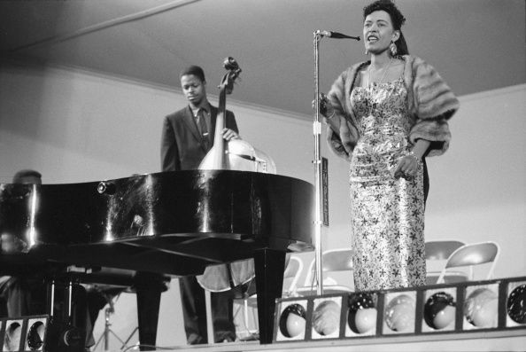 Festival de Jazz en Californie en 1958