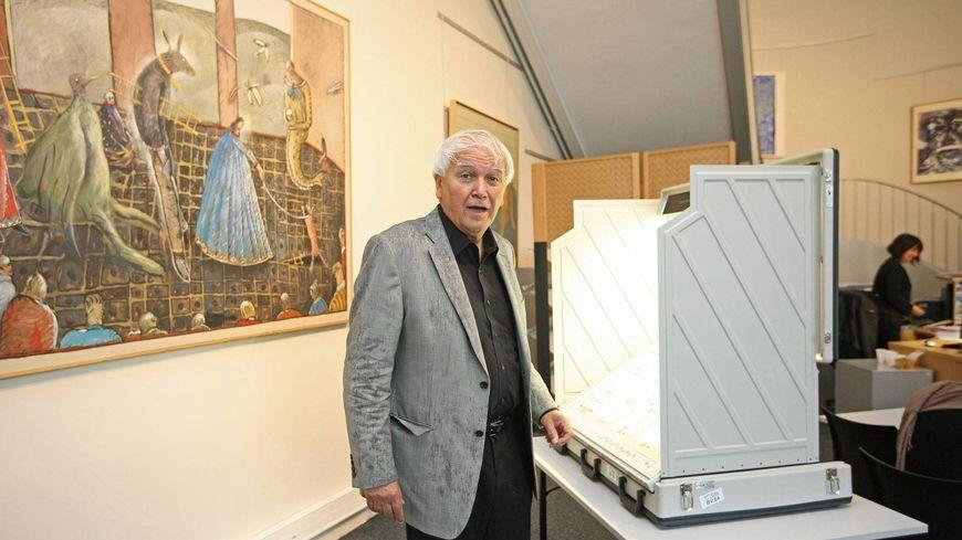 C'est la troisième élection présidentielle à se dérouler de façon électronique au Mans (ci-dessus 2012)