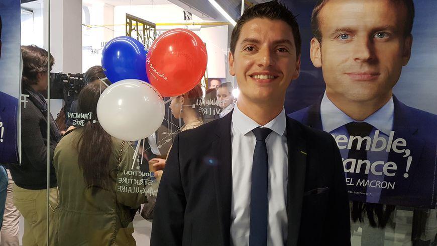 Mickaël Nogal délégué En Marche en Haute Garonne  investi dans la  4 ème circonscription