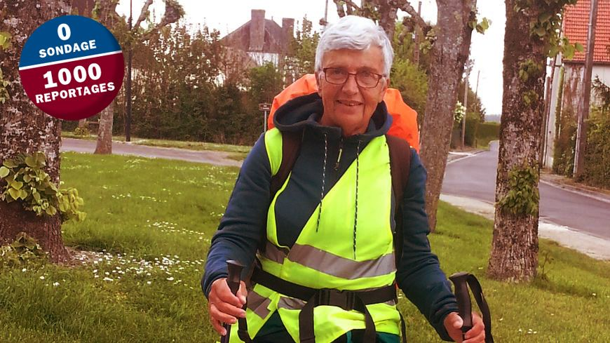 Marie-José fait 25 kilomètres par jour