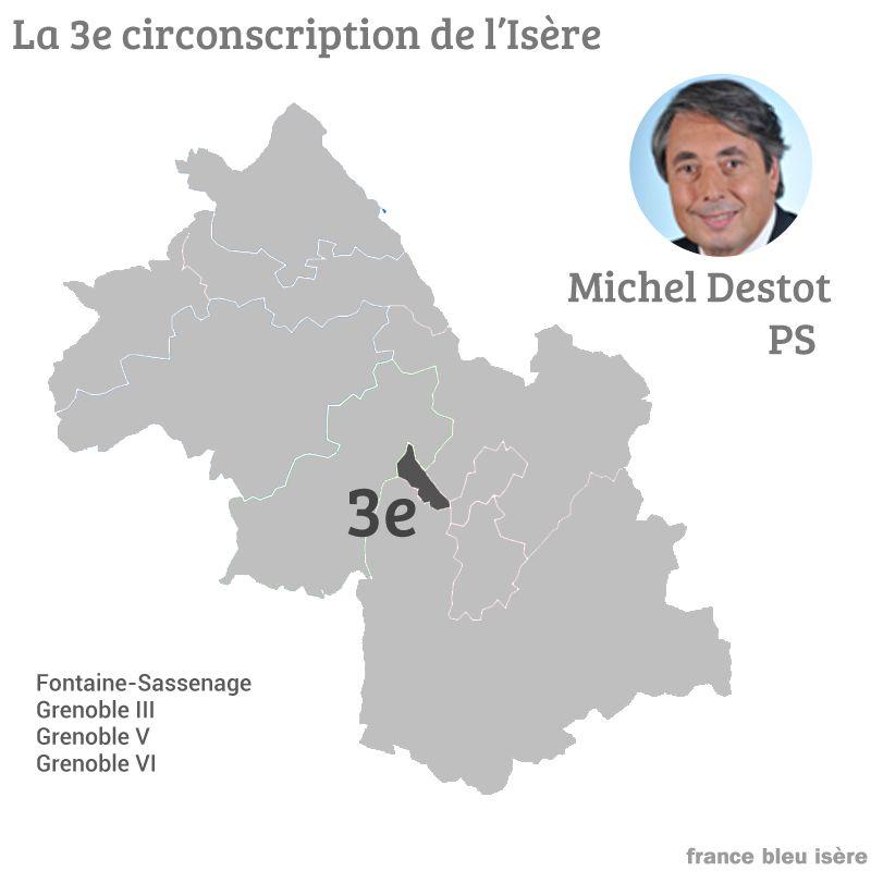 Michel Destot avait été élu en 2012
