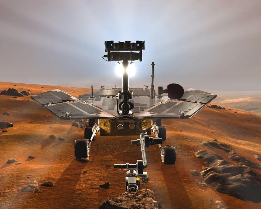 Mars Exploration Rover est une mission d'exploration martienne composée de deux sondes abritant deux rovers identiques