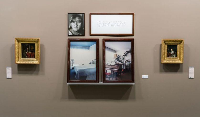installation photographique de Sophie Calle