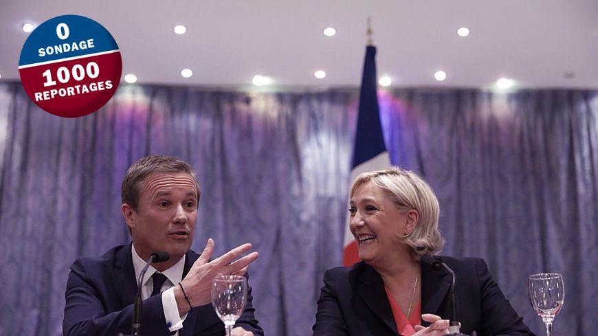 """Le ralliement du souverainiste à la candidate du Front National: """"un tournant"""" pour Robert Ménard, le maire de Béziers."""